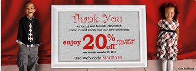AMAZING CHILDRENS PLACE COUPON GOOD FOR MONTHS!