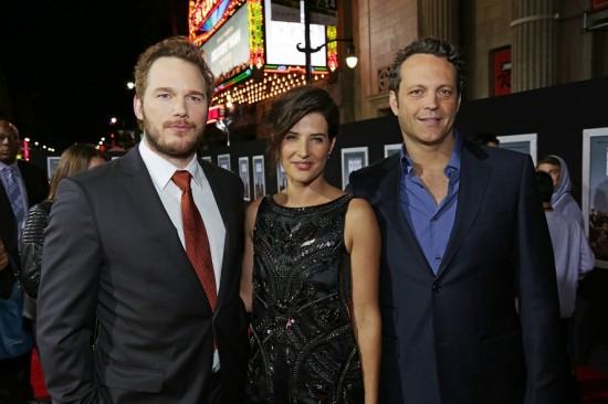Chris Pratt, Cobie Smulders, Vince Vaughn