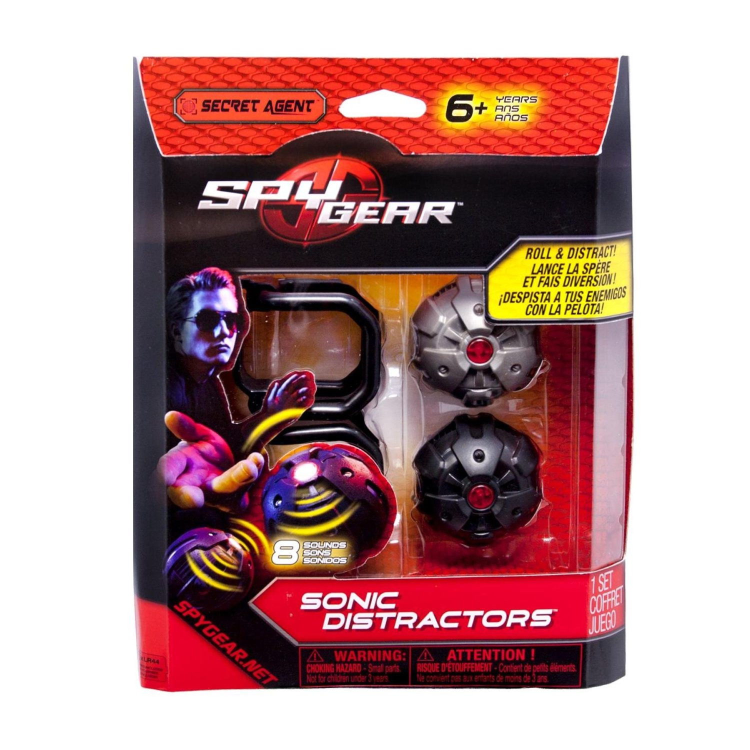 Target Sonic Toys : Giveaway spy gear sonic distractors spinmastertoys