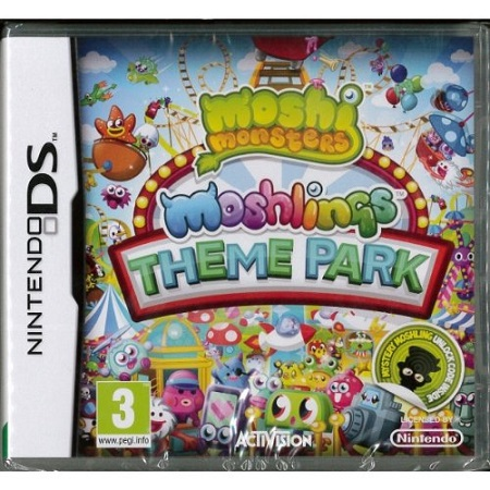 Giveaway ? Moshi Monsters: Moshlings Theme Park for the Nintendo DS!
