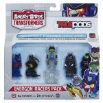 ANGRY BIRDS TRANSFORMERS ENERGON RACERS PACK A9534 In Pack