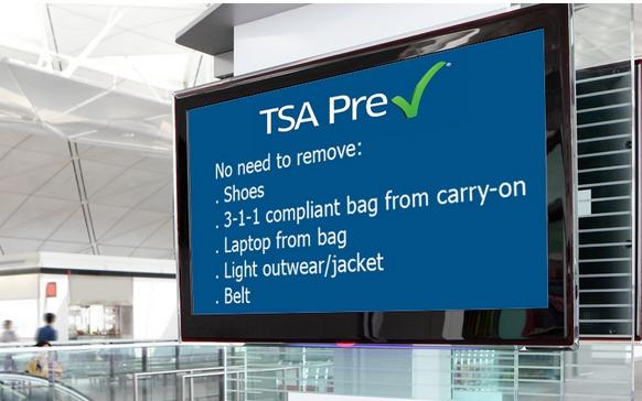 TSA Pre-Check or Global Entry For Free