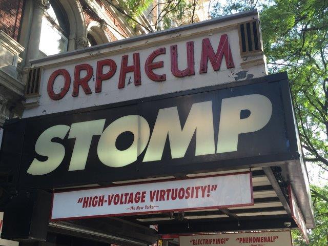 """Stomp, Off-Broadway"""