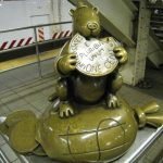 #NYC Subway Art! W/Linky! #travel