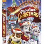 Giveaway: @NickelodeonDVD's PAW Patrol: Pups Save Christmas DVD!