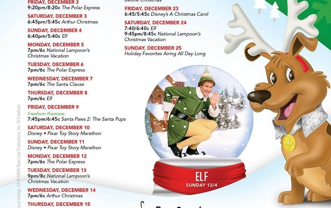 Free Form TV's Christmas Schedule is Here! Set The DVR/TIVO! @FreeFormTV @abc #25DaysofChristmas