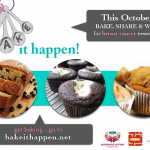 #BakeItHappen! Supporting Breast Cancer Awareness Through Baking! #food #baking #breastcancer