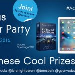 Join Me For The @Acronis Twitter Party, w/Prizes, This Wednesday! #AcronisDataSafe #ad