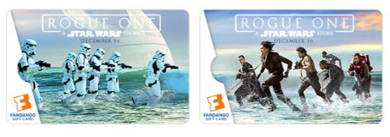 Giveaway - $25 Fandango Gift Card for December! #RogueOneEvent #RogueOne @StarWars