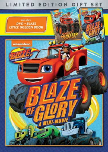 Blaze and The Monster Machines: Blaze of Glory DVD Gift Set!