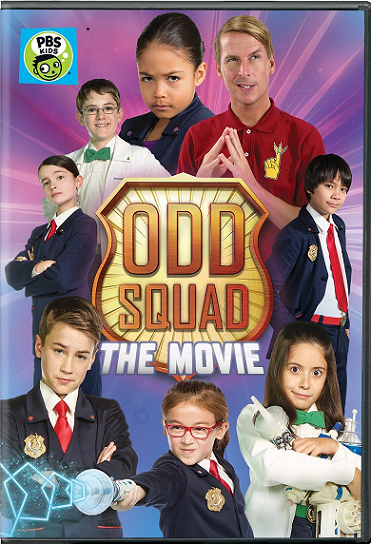"""ODD SQUAD: THE MOVIE"" DVD From @PBSKIDS!"