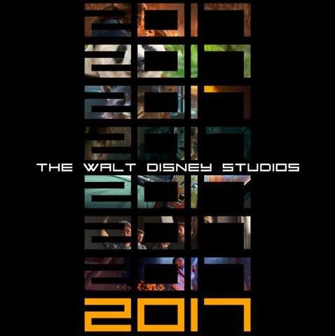 """The 2017 Schedule from Walt Disney Studios Motion Pictures!"""
