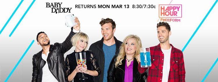 """""""Baby Daddy"""" Returns Tomorrow, March 13 on @FreeformTV! @abcfBabyDaddy #BabyDaddy"""