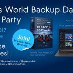 Acronis #WorldBackupDay Twitter Party w/Huge Prizes This Thursday! #AcronisWBD #ad @Acronis