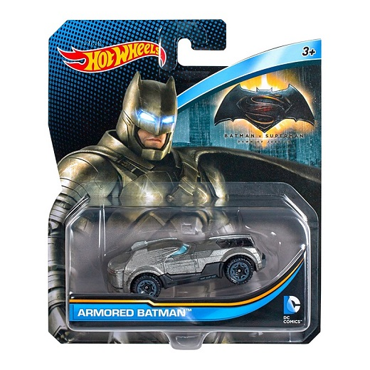 HotWheels! Armored Batman and HW Formula Solar!