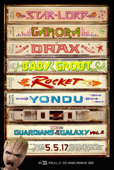 Guardians of the Galaxy Volume 2!