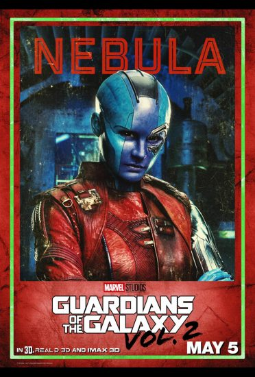 Guardians of the Galaxy Volume 2!, Karen Gillan