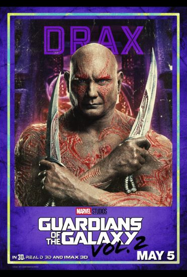 Guardians of the Galaxy Volume 2!, Dave Bautista