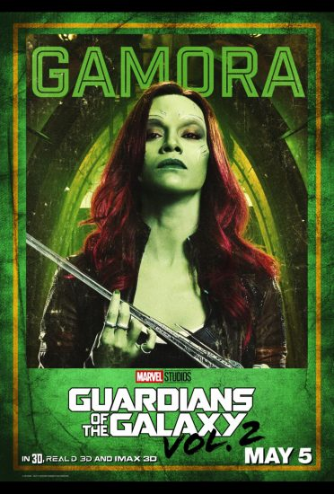 Guardians of the Galaxy Volume 2!, Zoe Saldana