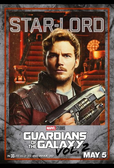 Guardians of the Galaxy Volume 2!, Chris Pratt