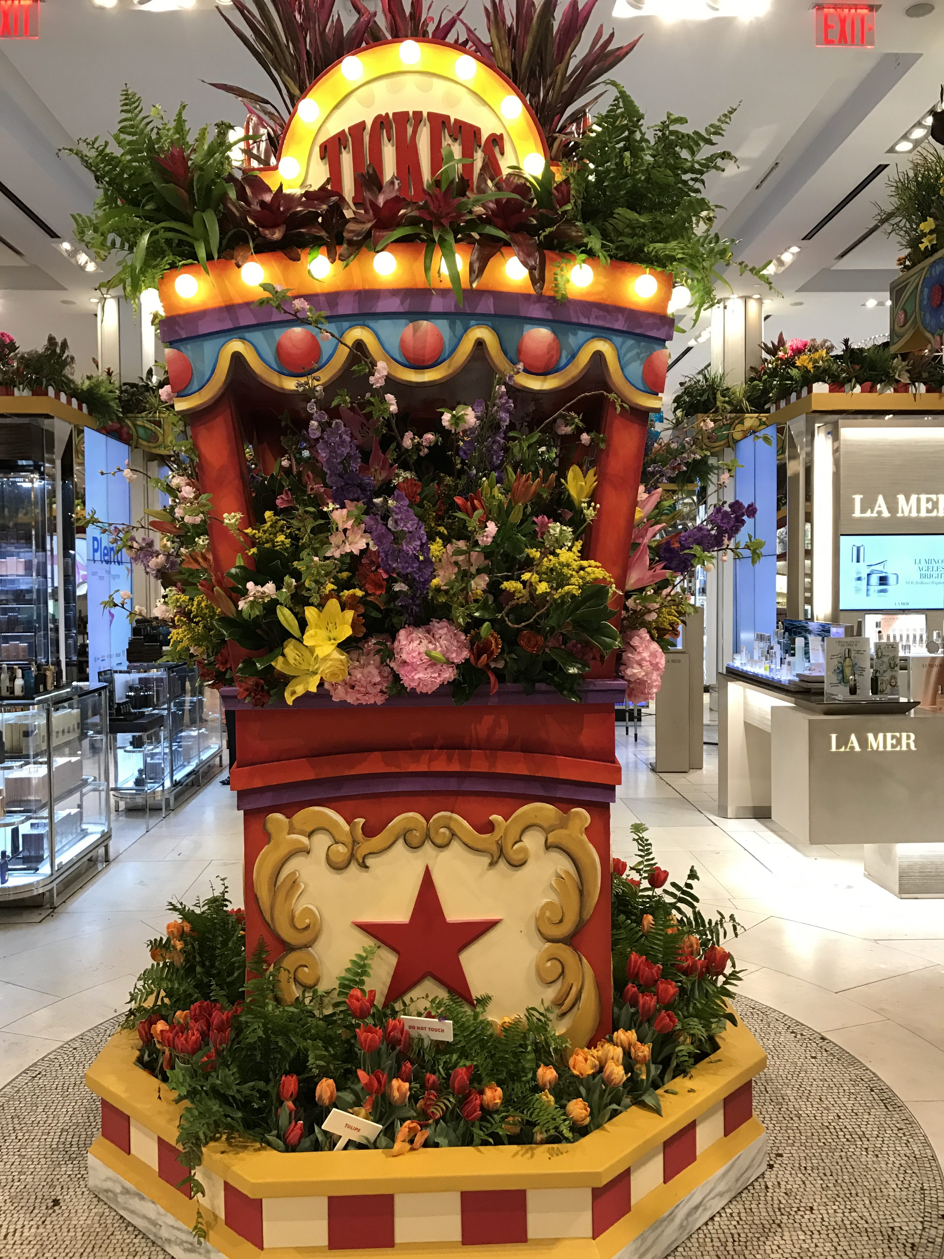 Macy s Flower Show w Linky Macys MacysFlowerShow travel NYC Gay N