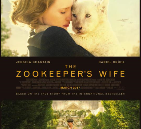 The Zookeepers Wife, Starring Jessica Chastain, Opens March 31! @Zookeepers #TheZookeepersWife