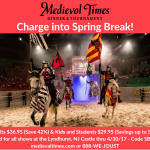 Spring Break Discount! Medieval Times Tickets! @MedievalTimes #newjersey #newyork #travel