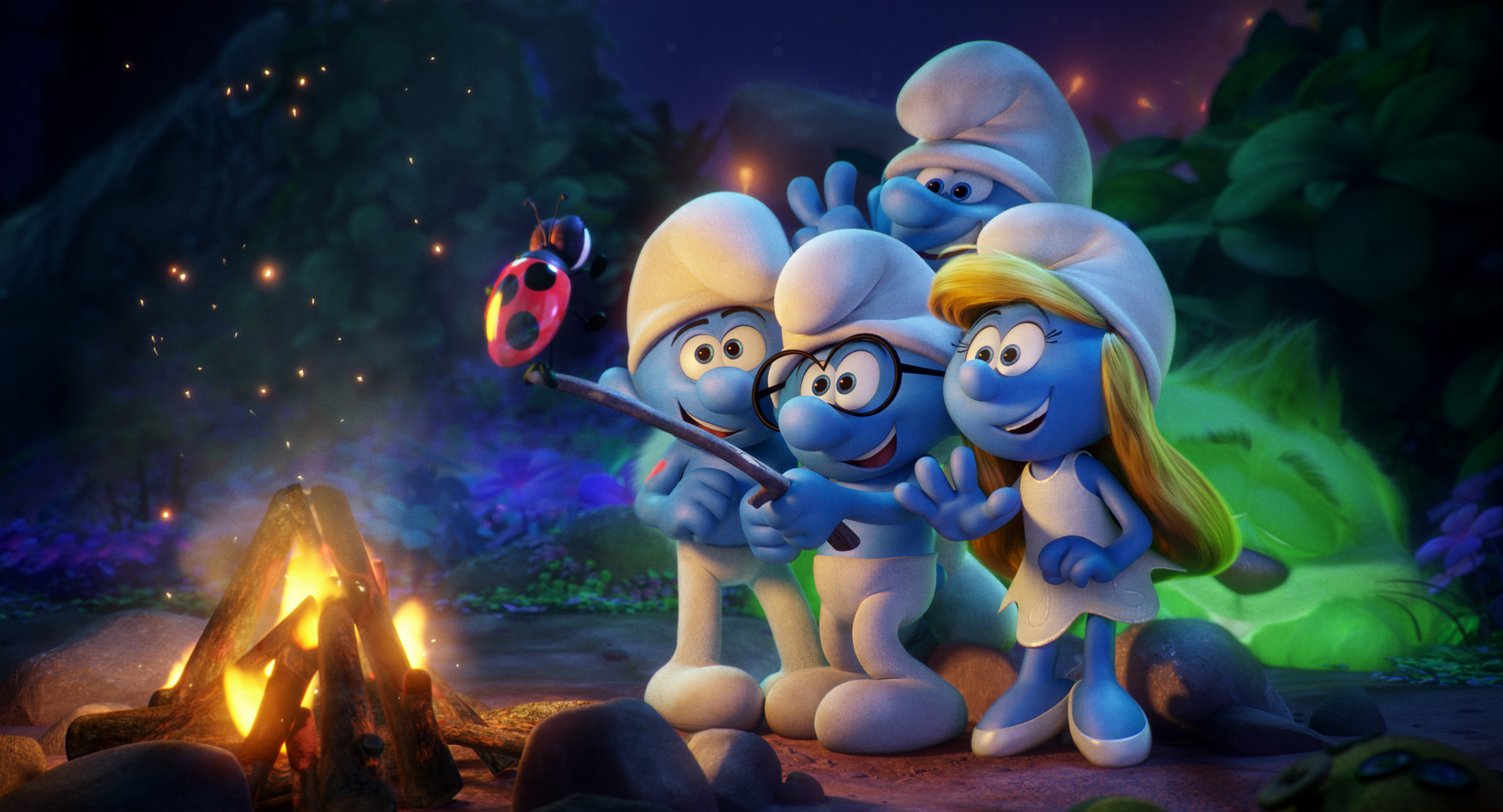 Smurfs 3 smurfs the lost village opens friday april 7th - Hefty smurf the lost village ...