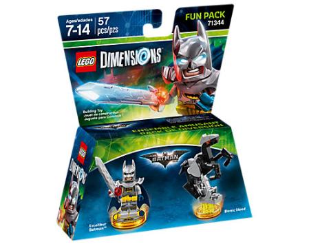 Lego Dimensions Fun Pack Excalibur Batman!