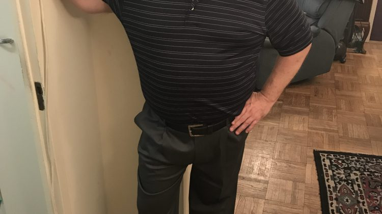 Modeling Haggar Pants With My Dad Bod For #FathersDay, w/Giveaway! @HaggarCo #ad