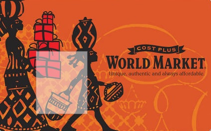Giveaway -$25 World Market Gift Card For July!