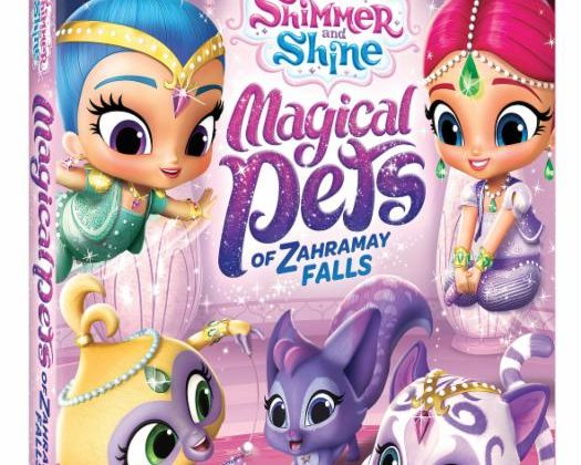 Giveaway – @NickelodeonDVD's Shimmer and Shine: Magical Pets of Zahramay DVD!