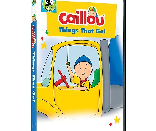 """Giveaway – @PBSKids """"CAILLOU: THINGS THAT GO!"""" DVD!"""
