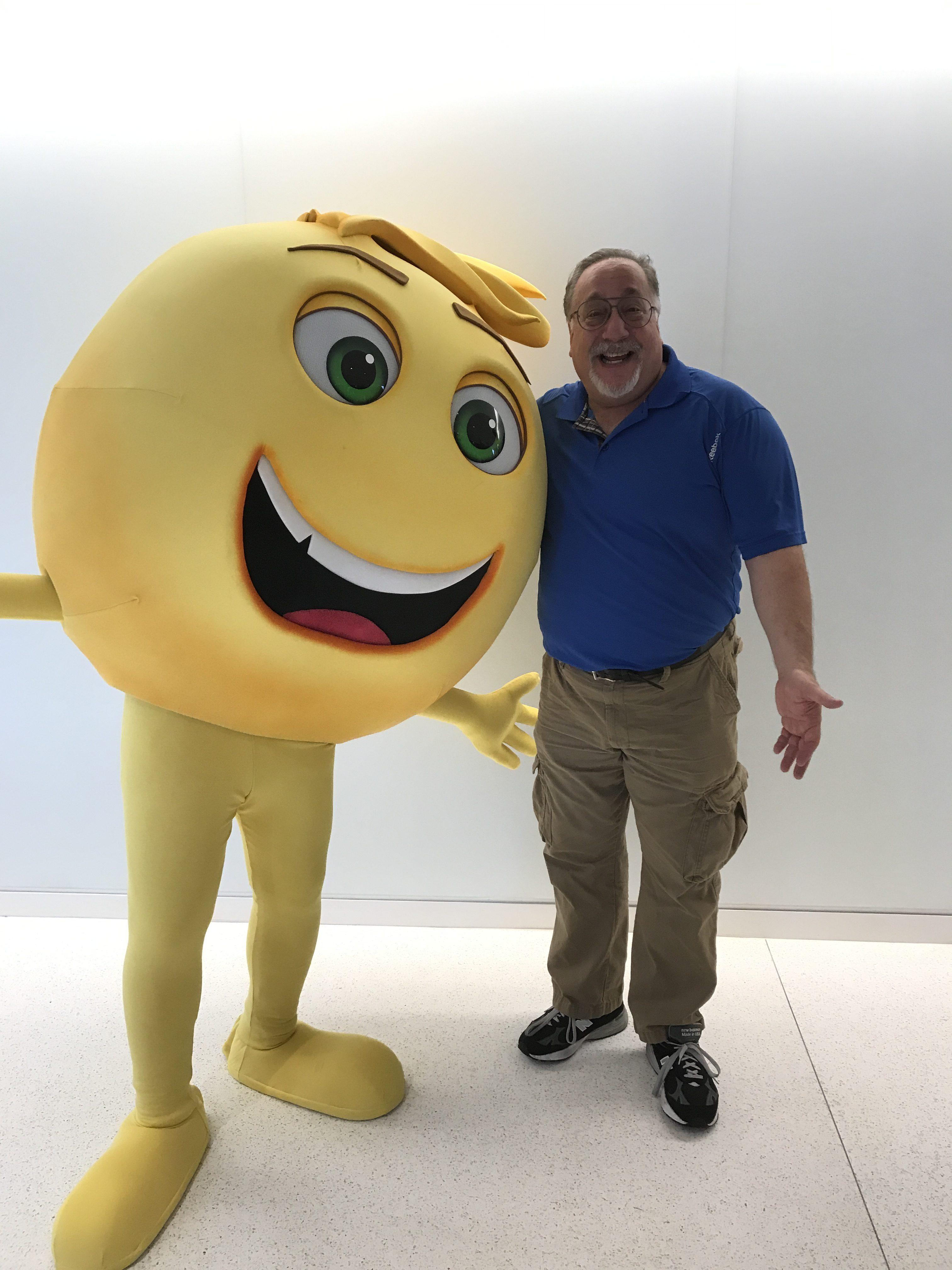 I Am Celebrating #WorldEmojiDay By Heading To A Preview of The #EmojiMovie Right Now!,
