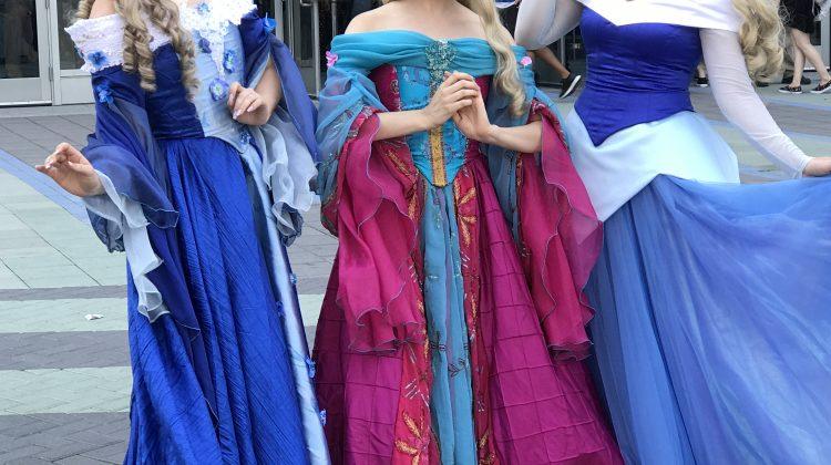 The Real Disney Princesses! W/Linky! #D23Expo #D23Expo32017 @DisneyD23 #Disney