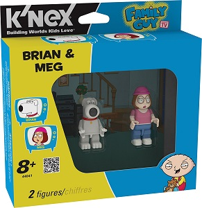 Giveaway – Family Guy: Brian & Meg Building Figures! From @Knex @FamilyGuyonFOX  #FamilyGuy