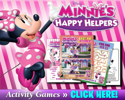 """Minnie's Happy Helpers"" DVD Debuts on July 25th! Enjoy Activity Sheets Today! #MinnieMouse #Disney"