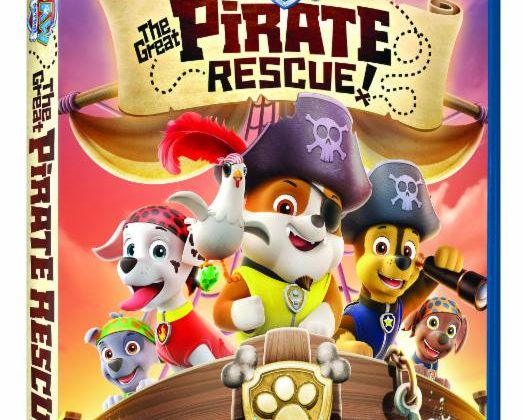 Giveaway – @NickelodeonDVD's Paw Patrol: The Great Pirate Rescue DVD!