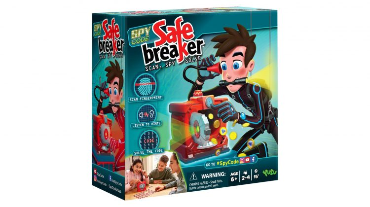 Giveaway – Super New Game: Safe Breaker From YULU Toys!