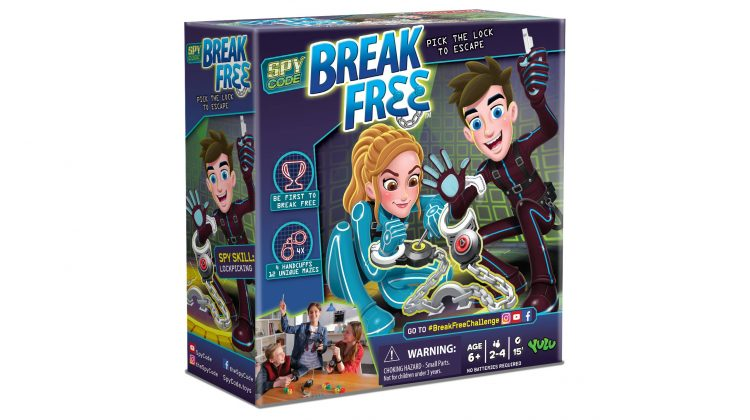 Giveaway – Super New Game: Break Free From YULU Toys!