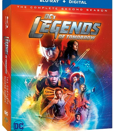 DC's Legends of Tomorrow Blu-ray is Out on Tuesday! #LegendsofTomorrow @TheCW_Legends #ad