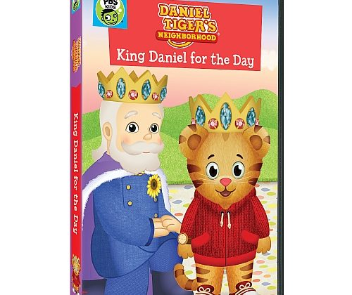 Giveaway – @PBSKids Daniel Tiger's Neighborhood: King Daniel For The Day DVD!
