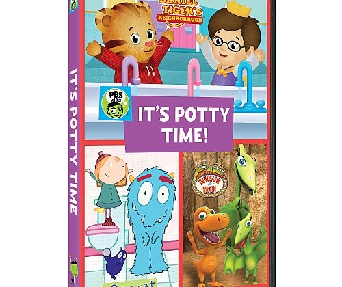 "Giveaway – @PBSKids ""It's Potty Time!"" DVD!"