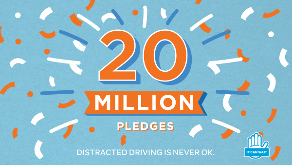 """AT&T: ""It Can Wait Campaign"" - 20 Million Pledges Needed!"""