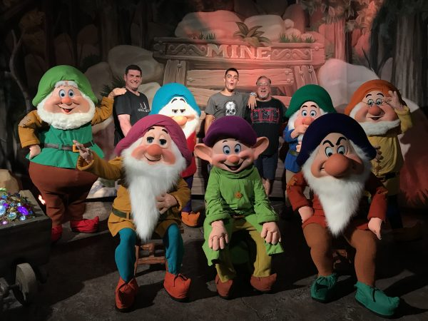 Mickey's Not-So-Scary Halloween Party @WaltDisneyWorld Is A Blast!, The Seven Dwarves