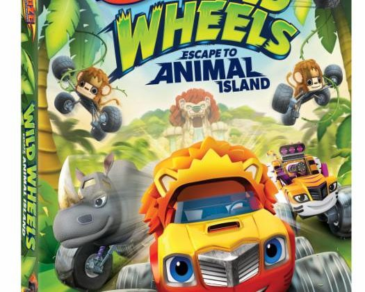 Giveaway – @NickelodeonDVD's Blaze and the Monster Machines: Wild Wheels Escape to Animal Island DVD!
