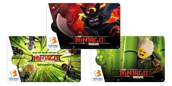 Giveaway -$50 @Fandango The LEGO NINJAGO Movie Collectible Gift Card! #ad @NINJAGOmovie #LEGONINJAGOMovie