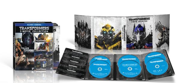 TRANSFORMERS: THE LAST KNIGHT will also be available in a 5-movie Blu-ray Collection