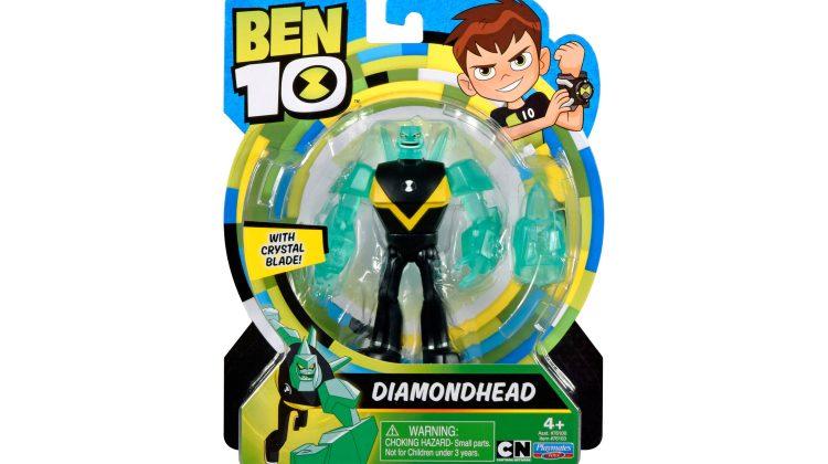 Giveaway – Ben 10 – Diamondhead Action Figure From @CartoonNetwork! #Ben10