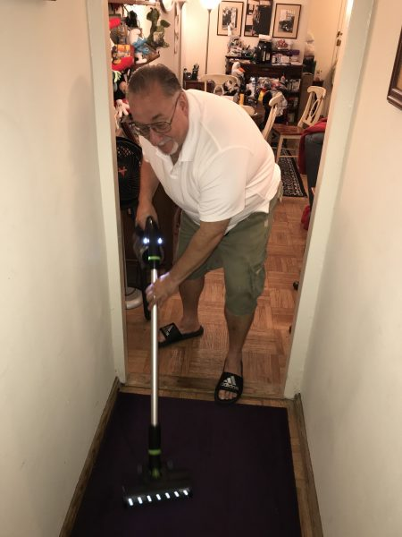 Having a Cleaning Party With My Bissell Cordless Vacuum!